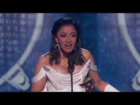 Cardi B Wins Best Rap Album | 2019 GRAMMYs Acceptance Speech Mp3