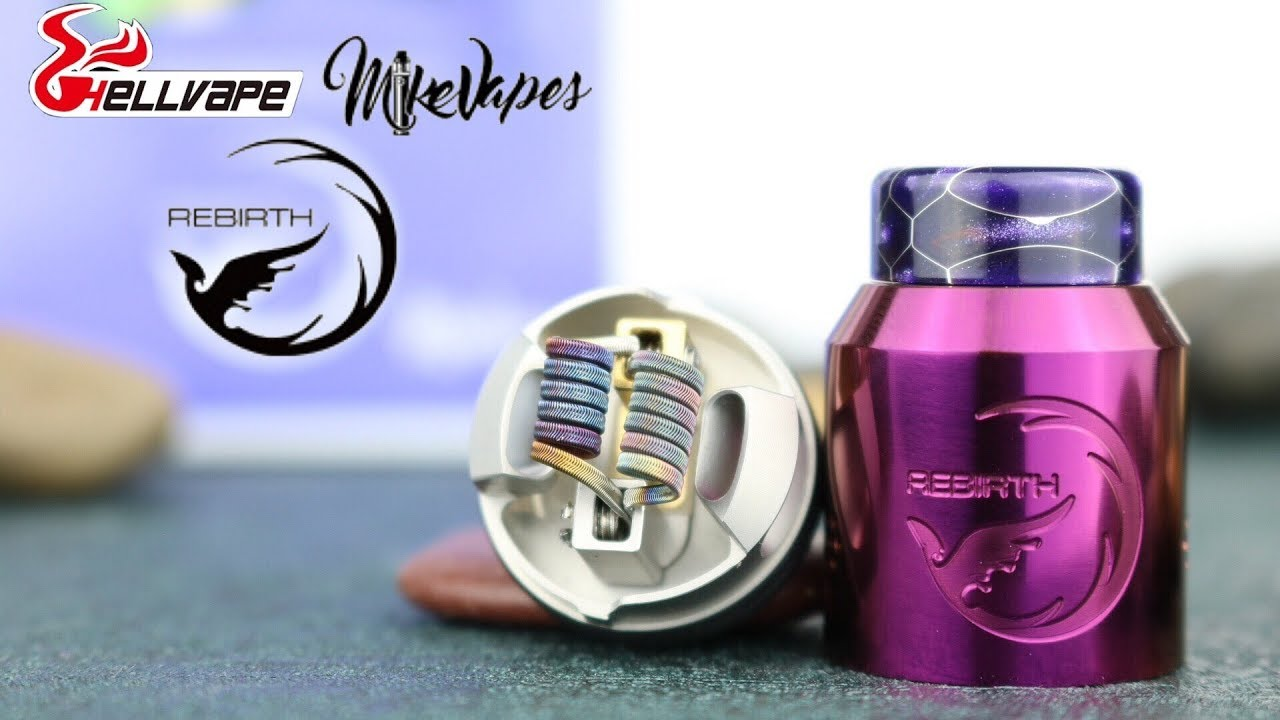 Image result for hellvape rebirth rda