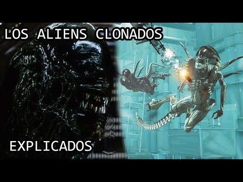Los Aliens Clonados o Xenomorfos Clonados de la Nave Auriga EXPLICADOS