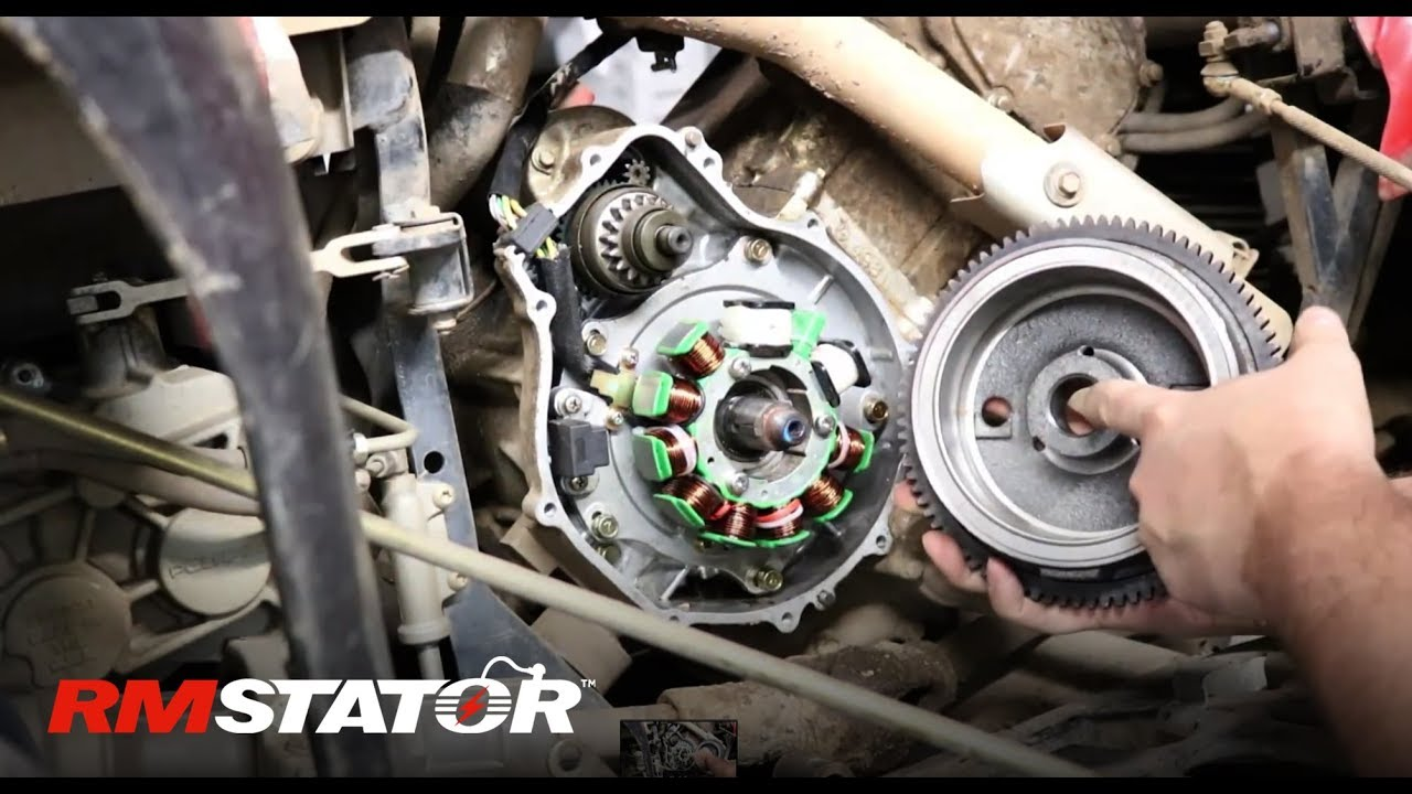 hight resolution of how to install a polaris 500cc atvs ff97 improved flywheel rotor instructions rm11512