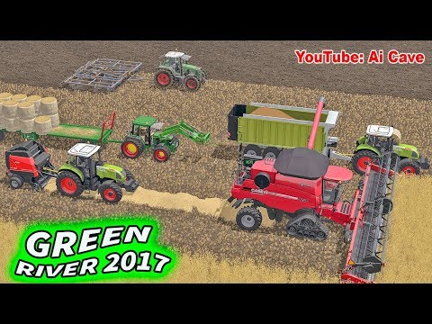 First Crop on GreenRiver 17 Map | Farming Simulator 2017 - LS17, FS 2017 Mods