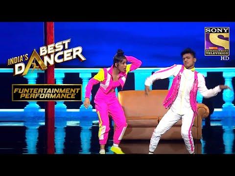 Vartika और Tiger ने  दिया एक Comedy Performance!| India's Best Dancer | Funtertainment Performance