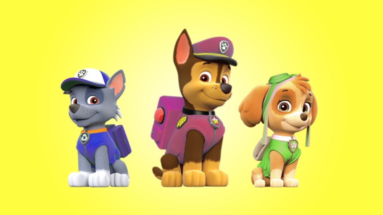 Paw Patrol Color Mix Up For Kids Children Amp Toddlers Youtube