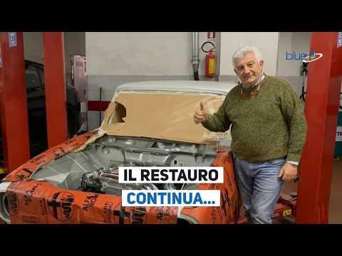 Restauro Alfa 1750 Berlina: ultimi aggiornamenti