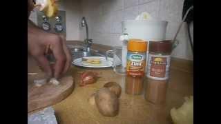 دستور غذا سازی با سیب زمینی خام برای خامگیاهخواران