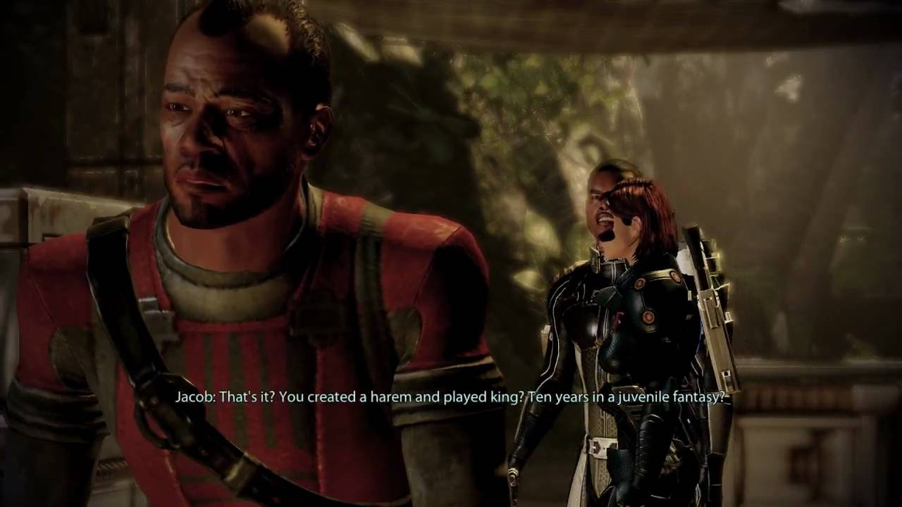 Mass Effect 2 - Help Jacob (Loyalty Mission) - Finding Ronald Taylor