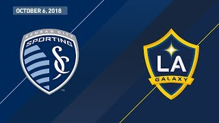 HIGHLIGHTS: Sporting Kansas City vs. LA Galaxy | October 6, 2018