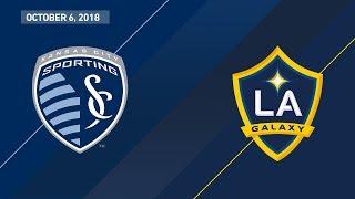 highlights sporting kansas city vs la galaxy october 6 2018