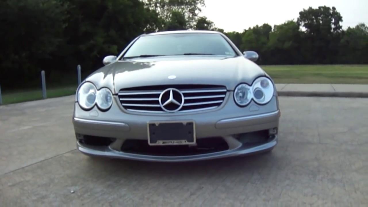 2003 Mercedes Benz Clk 55 Amg W209 V8 5 5l Bbs Wheels Youtube