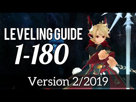 Toram Online: NEW POWERLEVELING GUIDE 1-180   ADVANCED Leveling List (Kronus Version) [Guide]