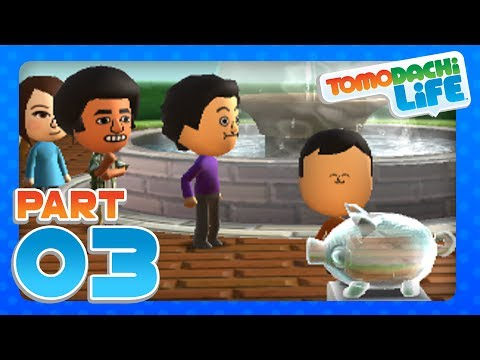 Tomodachi Life - Part 3 - YoshiToMario & Reggie Fils-Aime Move In (3DS)