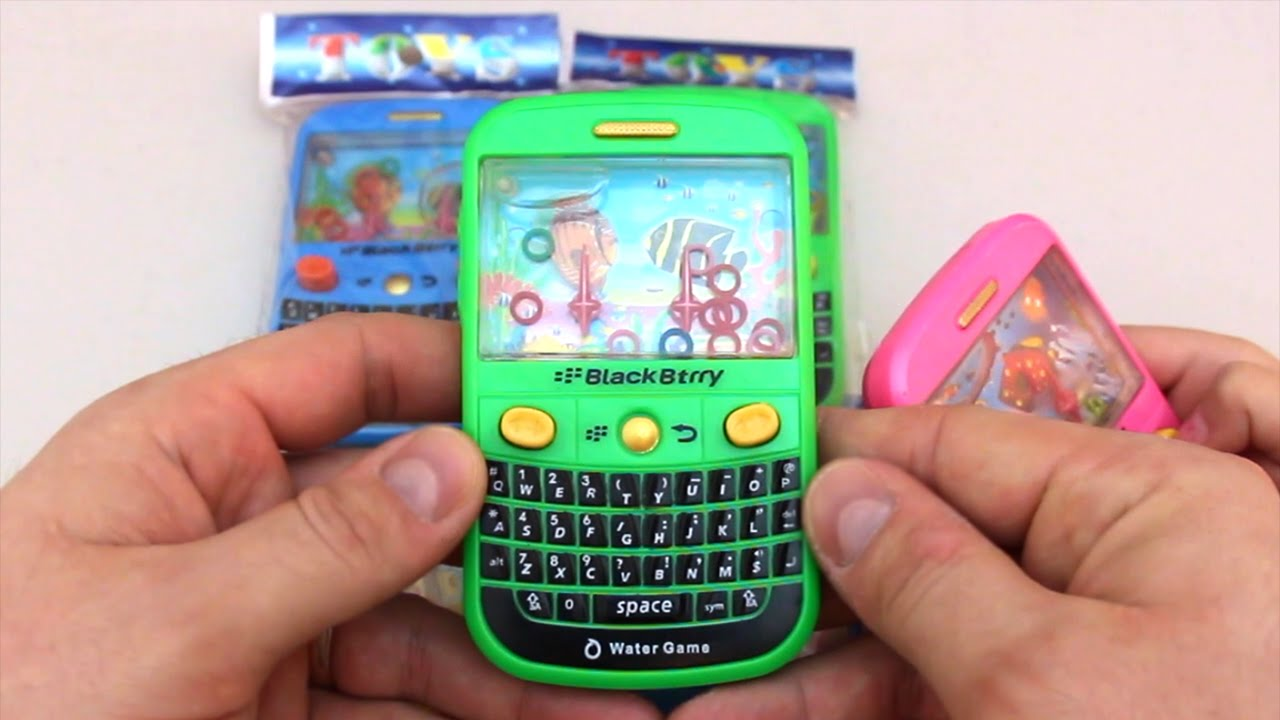 BlackBerry Phone Toy Water Game   YouTube BlackBerry Phone Toy Water Game