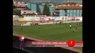 PTT 1.Lig'de Sezonun En Güzel 20 Frikik Golü