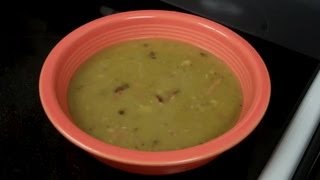 Split Pea And Ham Soup Recipe - How To Use Left Over Ham After The Holidays!