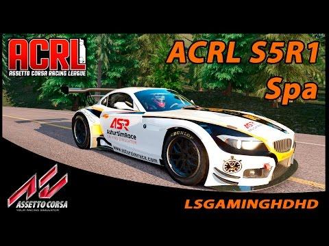 Assetto Corsa - Streaming - ACRL S5R1 EU AM - GT3 @ Spa