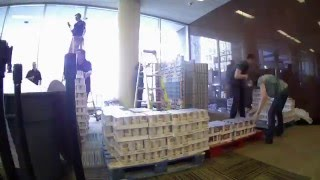 Video Turning the Page on Hunger - SHP Canstruction 2016 download MP3, 3GP, MP4, WEBM, AVI, FLV Mei 2018