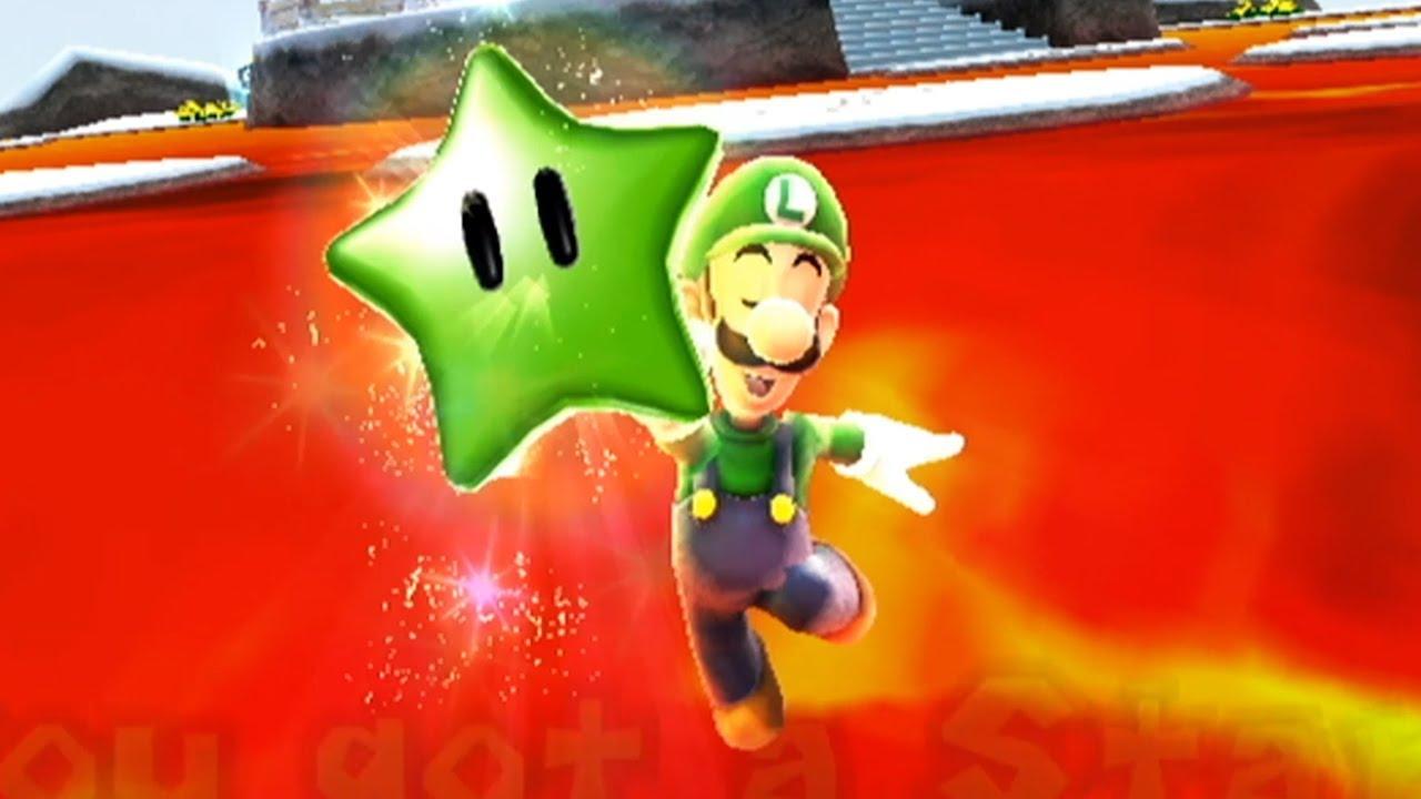 Super Mario Galaxy 2 - All Green Stars in World 3