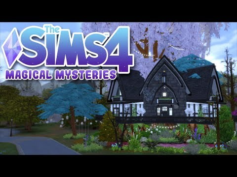 ? The Sims 4 MAGIC TREEHOUSE Speed Build   Magical Mysteries Ep. 1 thumbnail
