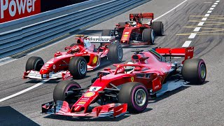 Ferrari f2004 marlboro livery mod nurburgring gp track lap