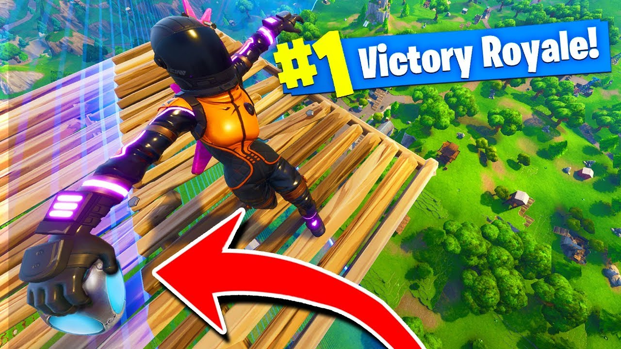 What Happens When You Port A Fort At Max Height In Fortnite Battle Royale