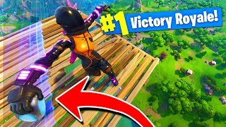 What Happens When You PORT-A-FORT At MAX HEIGHT In Fortnite Battle Royale