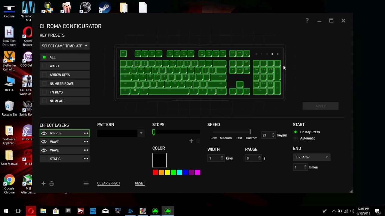Razer Ornata Lighting Effects Download