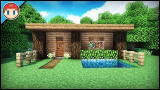 The Best Starter/Survival House For Beginners! - Minecraft Tutorial (EASY!)