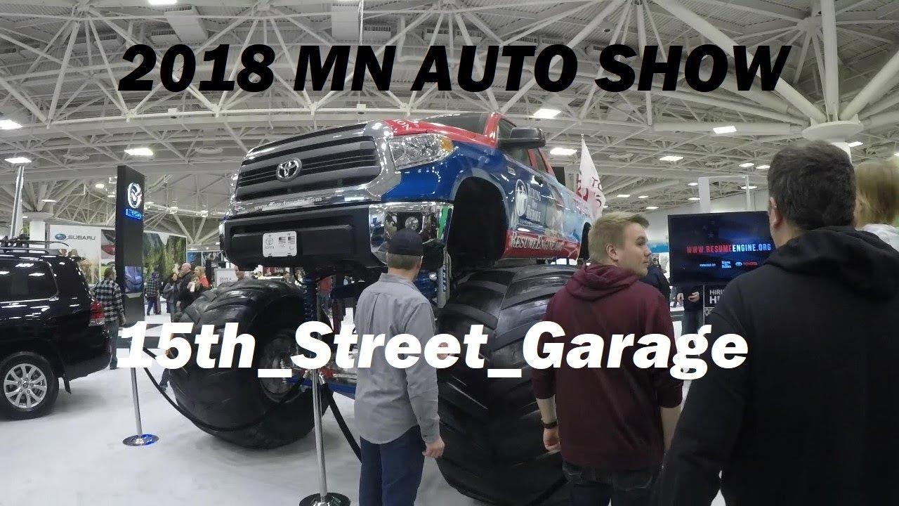 2018 Minneapolis Auto Show And Driving The Colorado ZR2