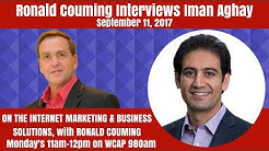 """Roanld Couming Interviews Iman Aghay, Creator of """"Ultimate Course Formula"""", September 11th, 2017"""