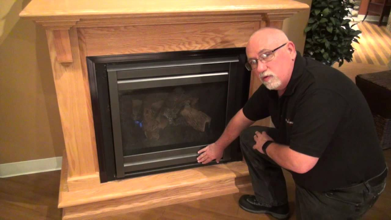 Gas Fireplace Operation Video Heatilator