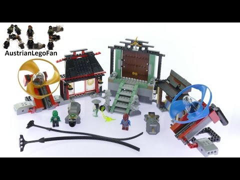 Lego Ninjago 70590 Airjitzu Battle Grounds - Lego Speed Build Review