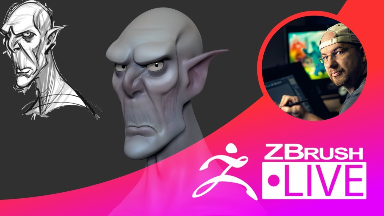 Shane Olson – Sculpting Stylized Characters – Episode 38