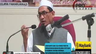 Komen Tentang Jemaah Tabligh & Kitab Fadhail Amal | Maulana Fakhrurrazi
