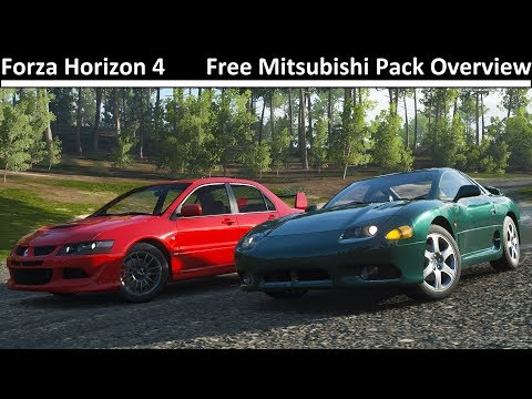 Free Mitsubishi Car Pack Overview - Forza Horizon 4 thumbnail
