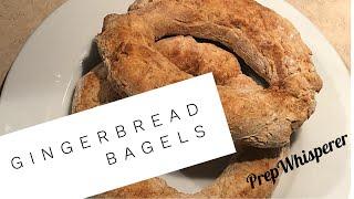 Gingerbread Bagels WW friendly !!  2 bagels 5 SmartPoints