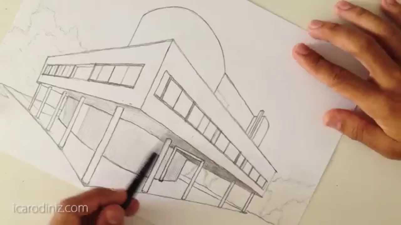Super La Savoye de Le Corbusier - Desenho à Mão Livre 004 - YouTube BB37