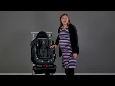 Ickle Bubba Solar Group 1-2-3 Isofix and Recline Car Seat