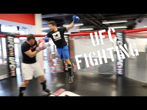 I Started Training At A UFC Gym!