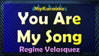 You Are My Song - Karaoke version in the style of Martin Nievera