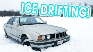 ICE DRIFTING IN FINLAND! Driftland On Tour 2019