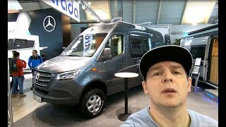 LA STRADA REGENT S 4X4 CAMPER 2019 NEW MERCEDES SPRINTER  CDI WALKAROUND AND INTERIOR