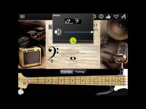 Bass Guitar Notes Finder App
