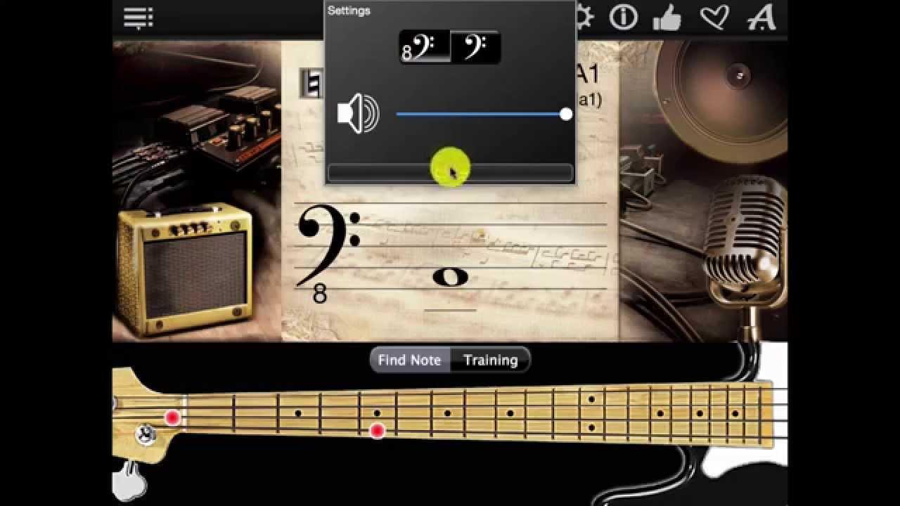 Bass Guitar Notes Finder App Chords Chordify