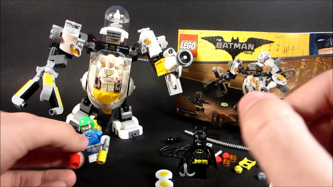 Download MCLB Review: 70920 Egghead Mech Food Fight