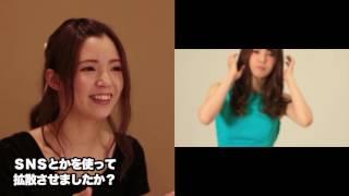 後姿美人コンテスト 3位インタビュー 清弘マリア  【modeco96】【m-event01】