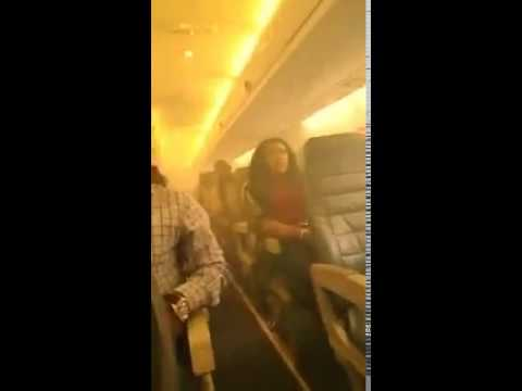 Aero Contractors Passengers Escape Death as Smoke Fills Cabin Following Wing Fire Midair!!!