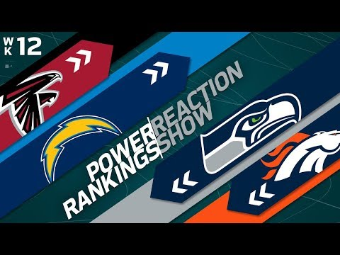 Power Rankings Week 12 Reaction Show: Biggest Threat to the Eagles in the NFC? | NFL Network