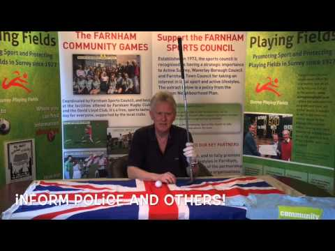 Organising a Community Sports Event - the Premier Version