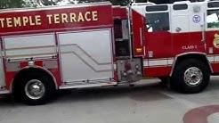 Temple Terrace Fire department open house 2015 tour