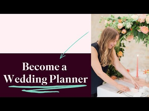 How to Become a Wedding Planner | Start A Wedding Planning Business